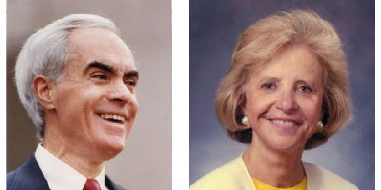 Gov. Robert Casey and Judge Phyllis Beck