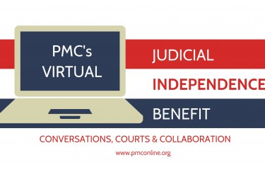 Judicial Independence Benefit 2020 logo